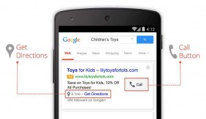 google mobil arama ağı reklamı