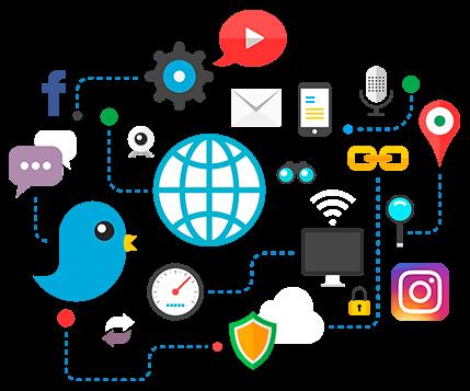 sosyal medya icon