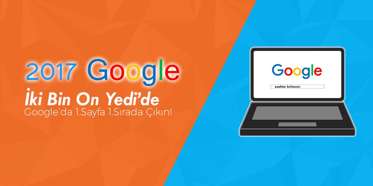 2017 yılında google reklam vermek google reklam ajansı ile çalışmak