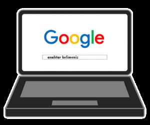 google arama ağı 1.sayfa 1.sıra
